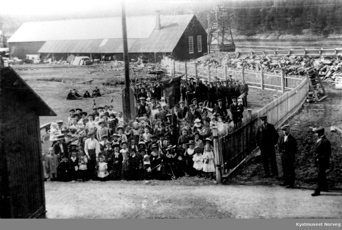 1. mai-tog på Salsbruket