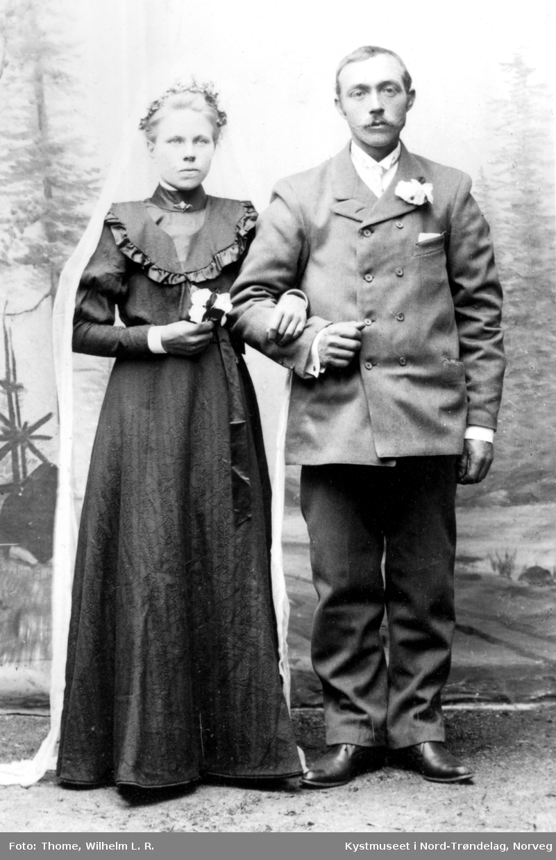 Alfryda (Fryda) og Anton Helmersen