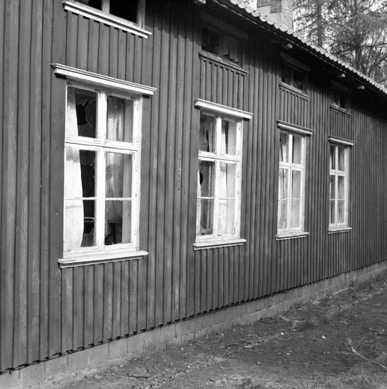 "Enligt notering: ""Vandaler i Skansen Folkdanslaget 17/5 -60""."