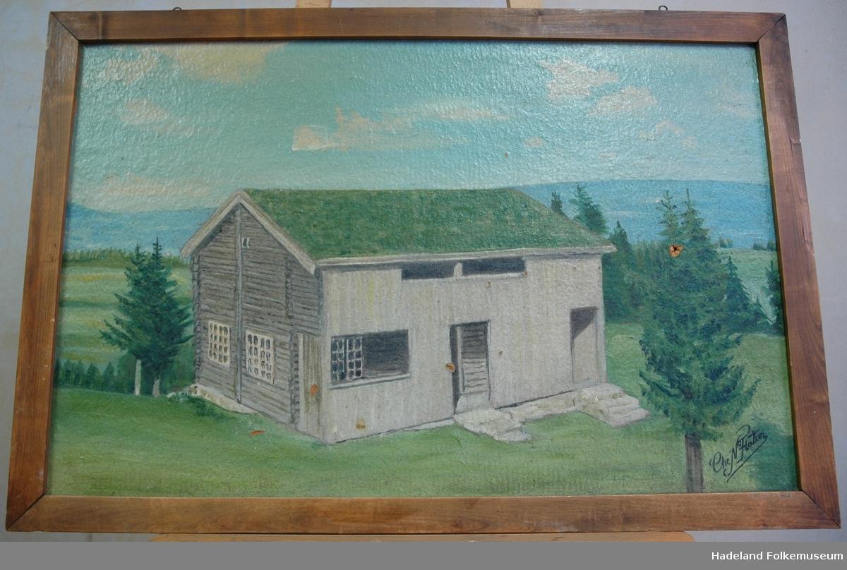 Molstadkvernbygningen på Hadeland Folkemuseum