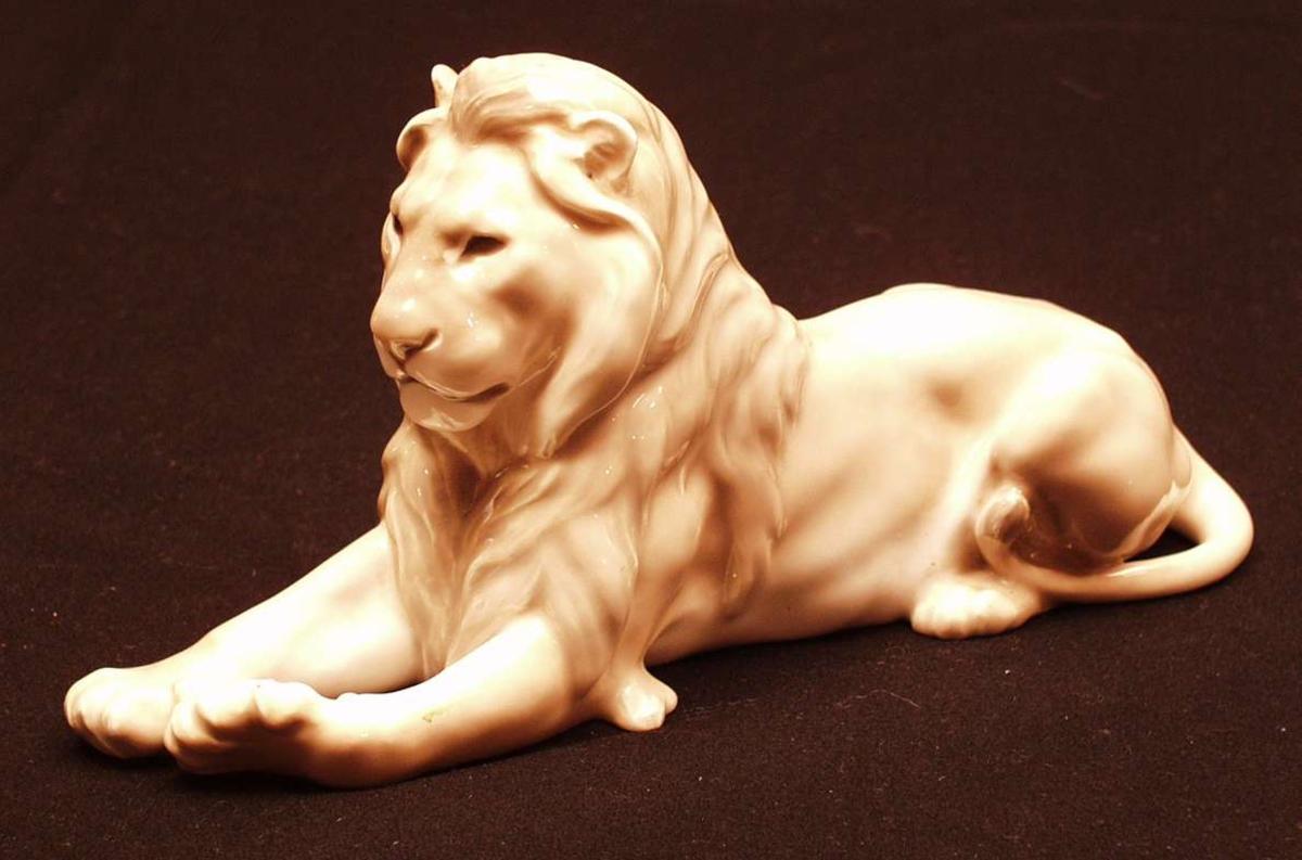 Liggende løve.