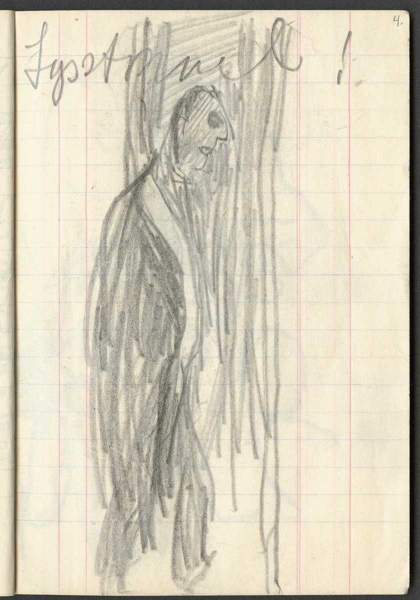 Mannsfigur [Tegning]