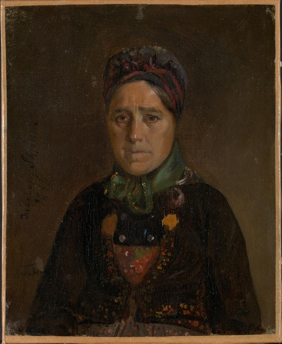 Ingeborg Skjønne fra Numedal [Maleri]