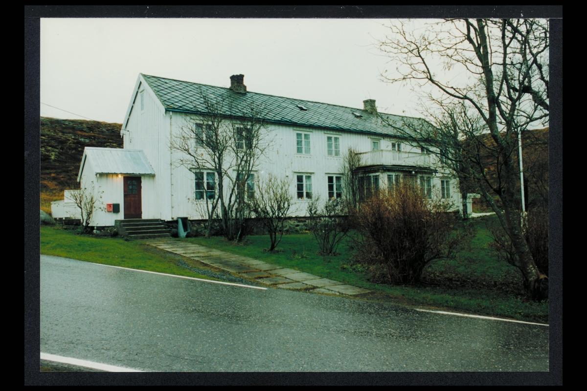eksteriør, postkontor, Øksningan, Sandnessjøen, eldre tider, postkasse