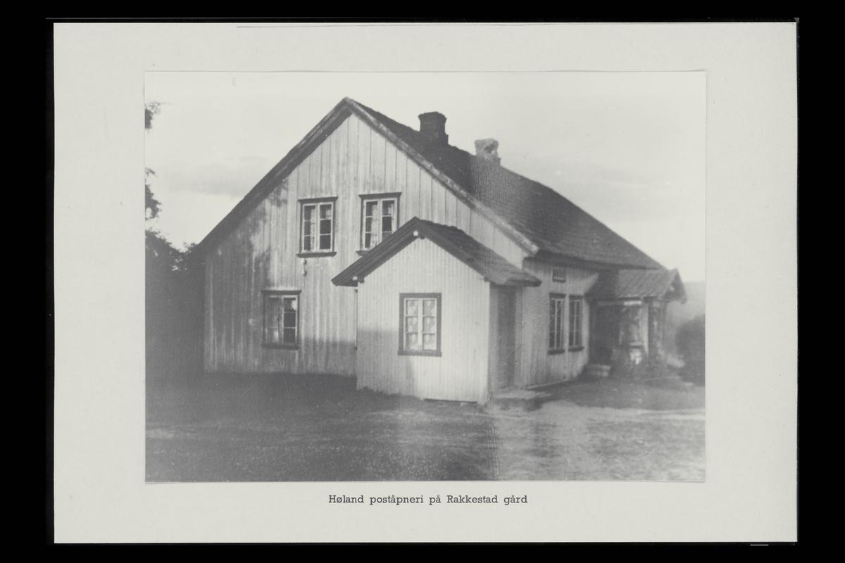 eksteriør, poståpneri, Høland