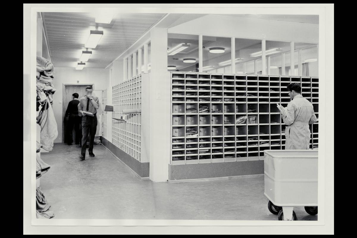 interiør, postkontor, 9400 Harstad, sortering, postboks, personal