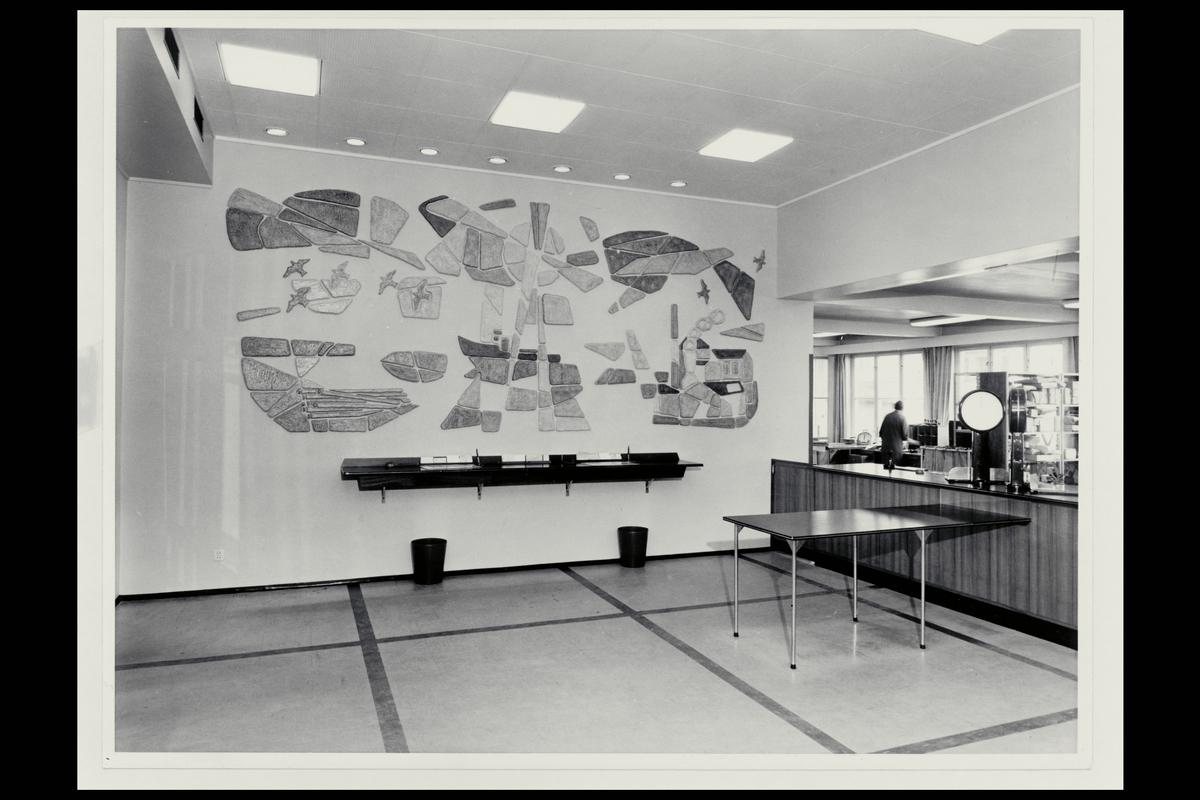 interiør, postkontor, 3007 Drammen, publikumshall