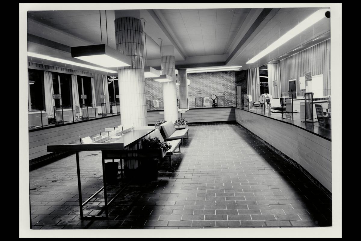 interiør, postkontor, 9000 Tromsø, publikumshall