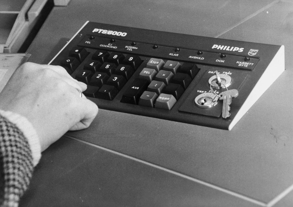 postbehandling, edb, Philips PTS/6000