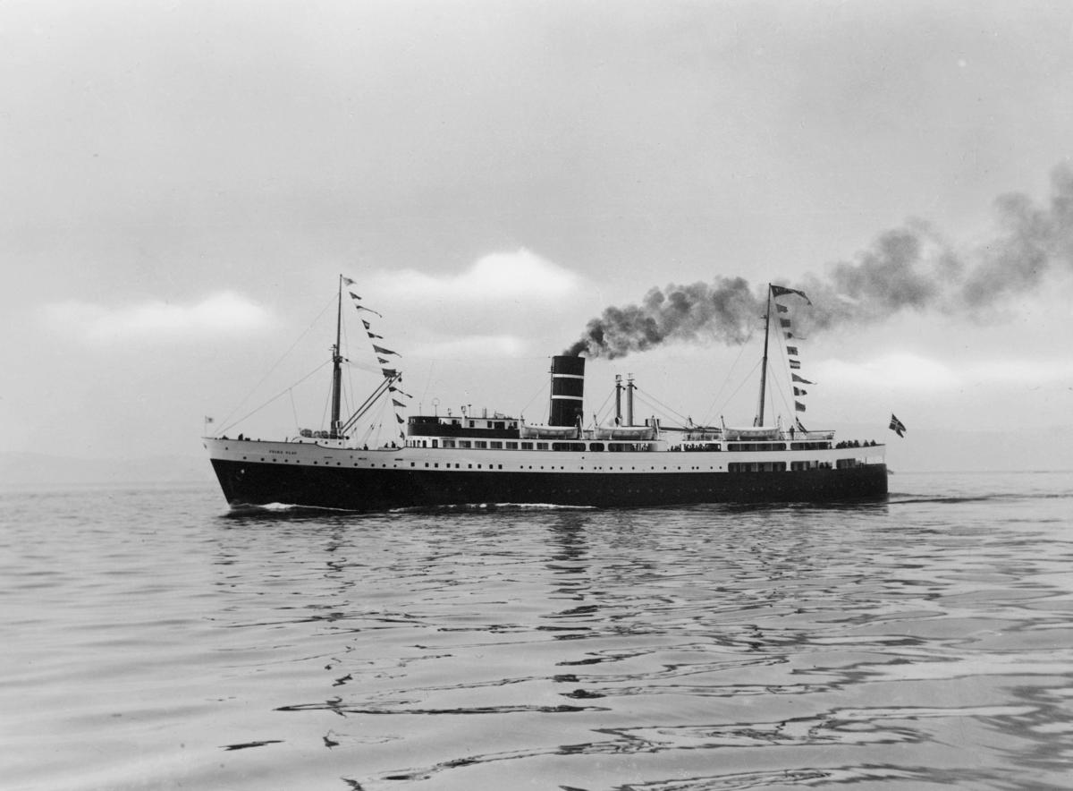 transport båt, eksteriør, Prins Olav