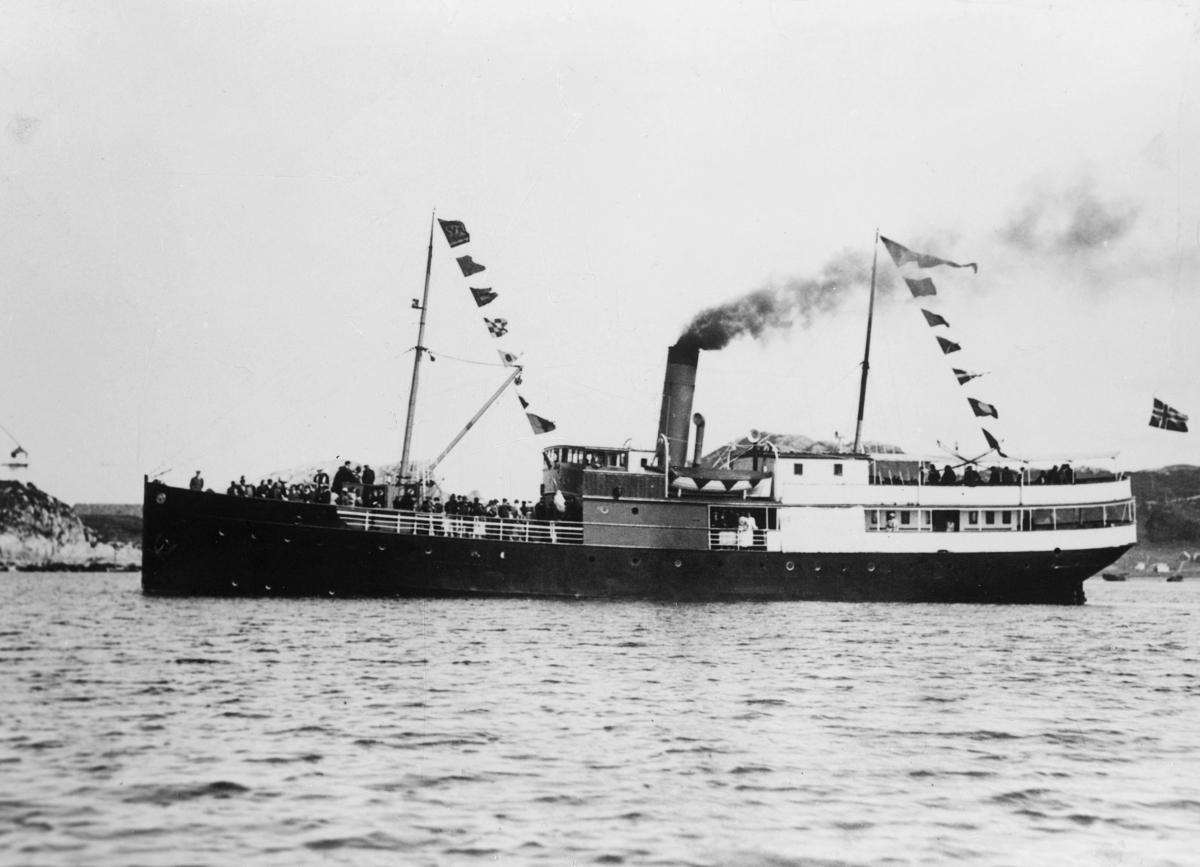 transport båt, eksteriør, D.S. Folden