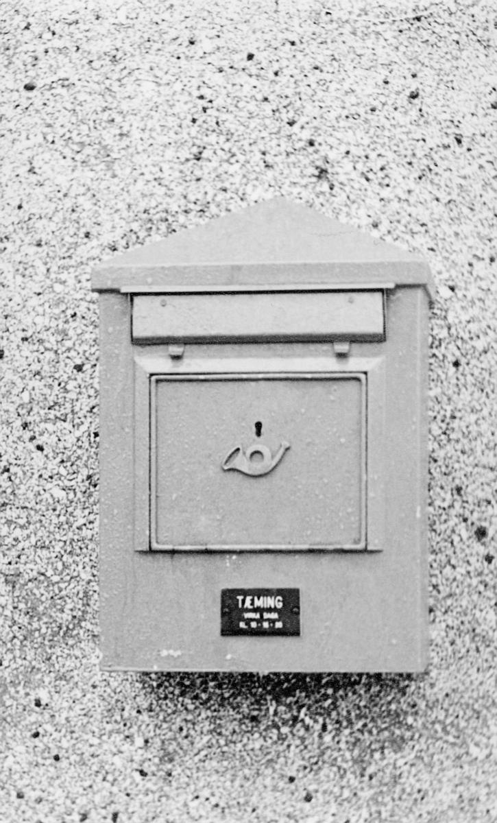 postkasser, utland, 12. februar 1969