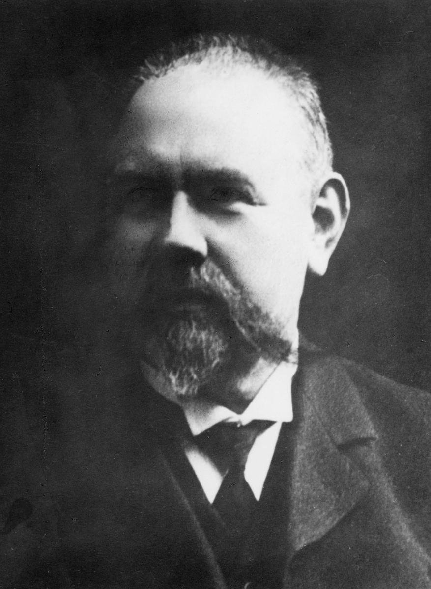 portrett, postmester, Ole Cornelius Reppe