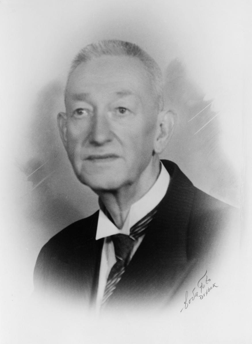 portrett, postmester, Johan Petter Stensrud