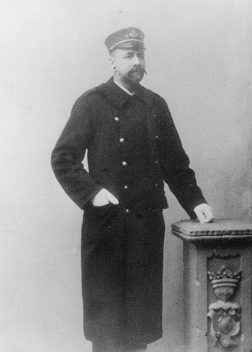 portrett, postmester, Josef Kristian Whittington Tengelssen