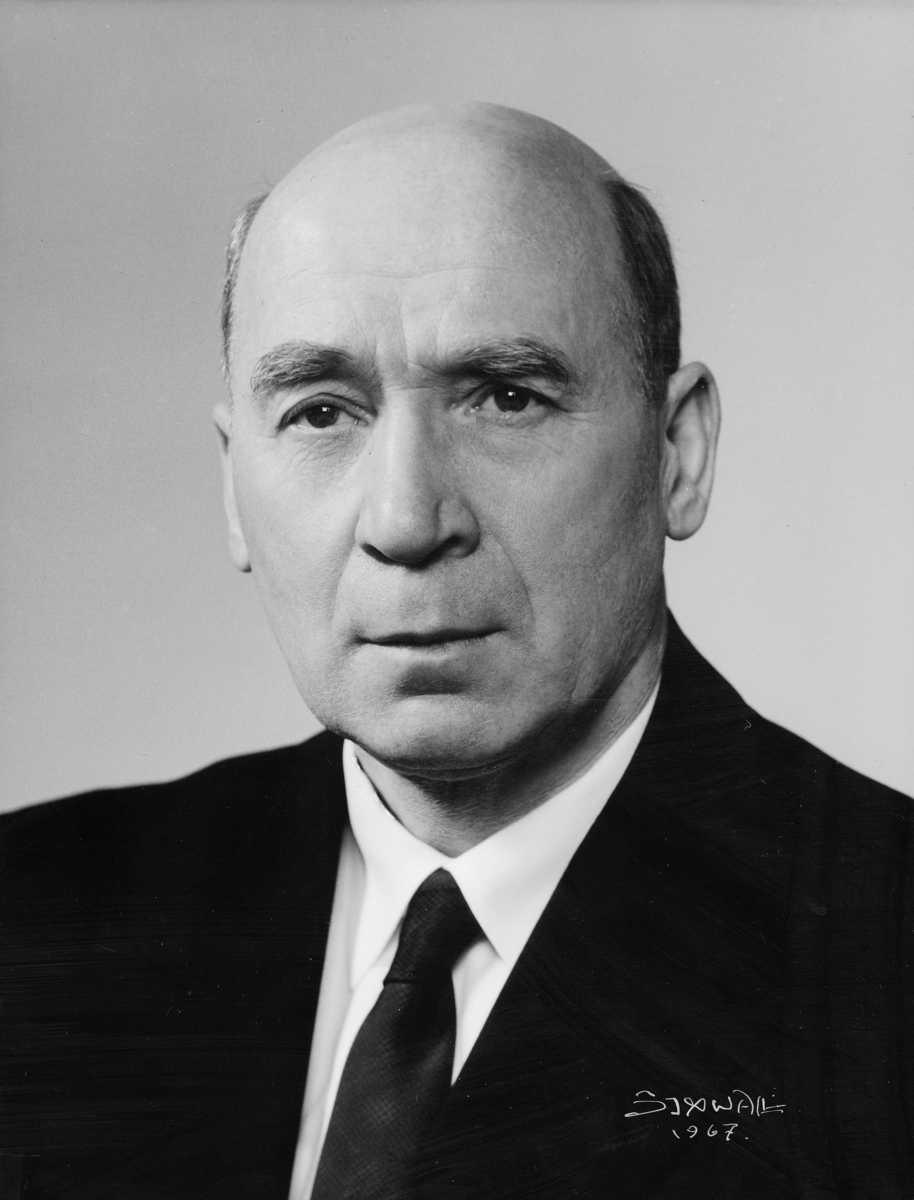 postmester, Pedersen Arthur Roar, portrett