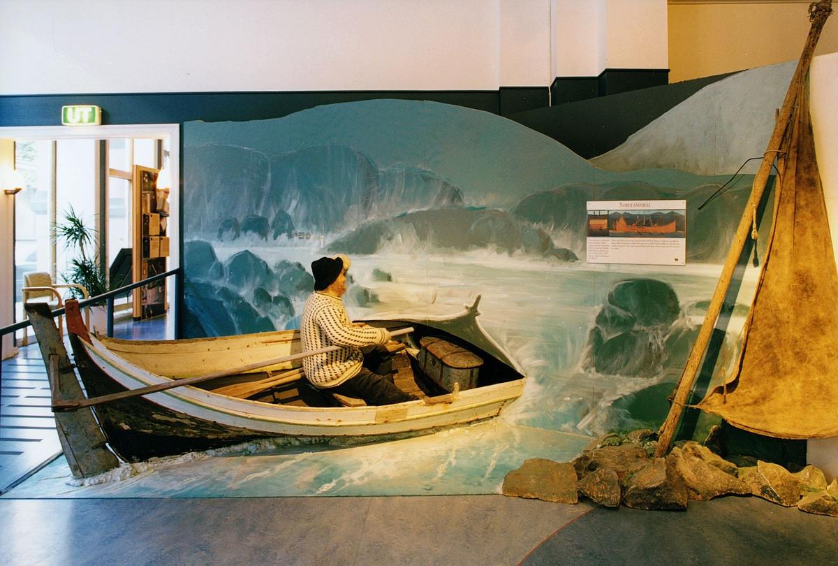 Postmuseet, Oslo, utstilling, Nordlandsbåt