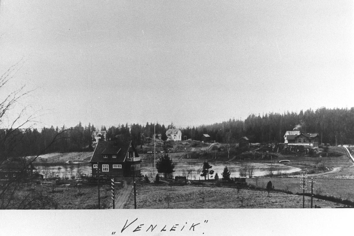 "Huset ""Venleik"" i Veslebukta ved Kolbotntjernet."