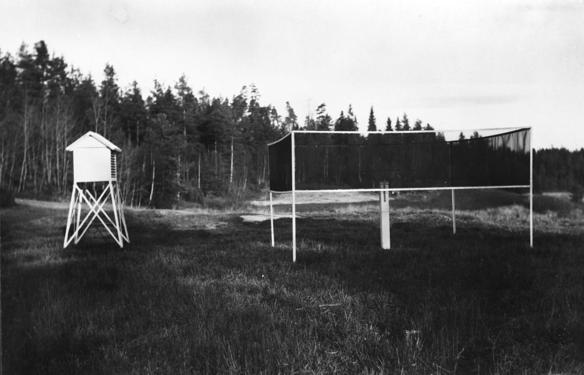 Sørmarka meteorologiske værstasjon.