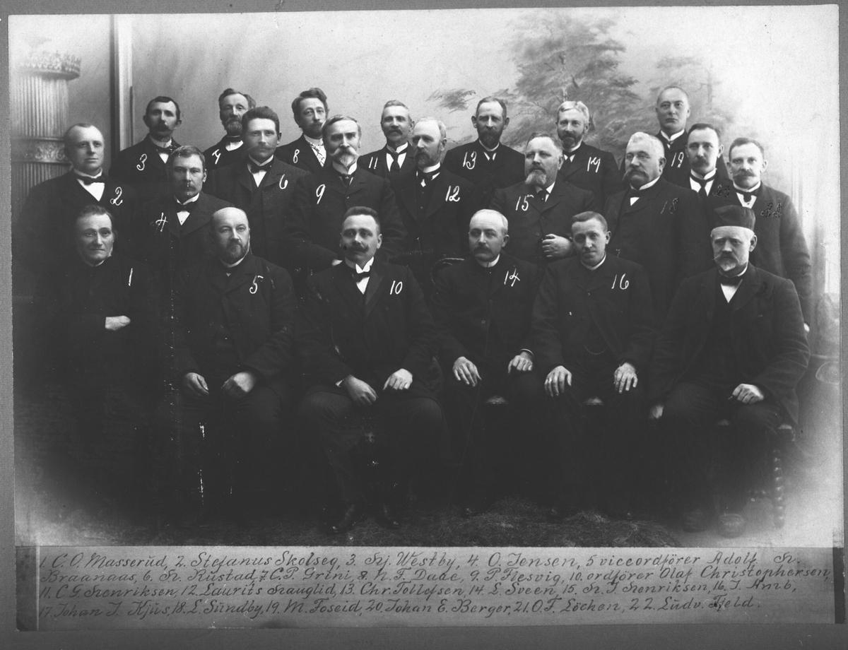 Herredsstyre i Skedsmo.1896-98