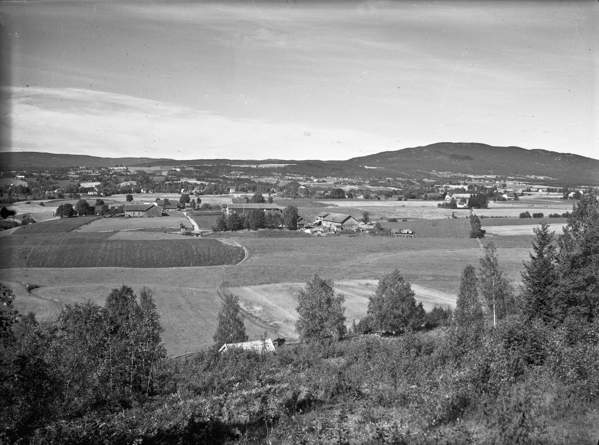 Utsikt mot Sundet fra Skakkland eller Wergelandsutsikten.