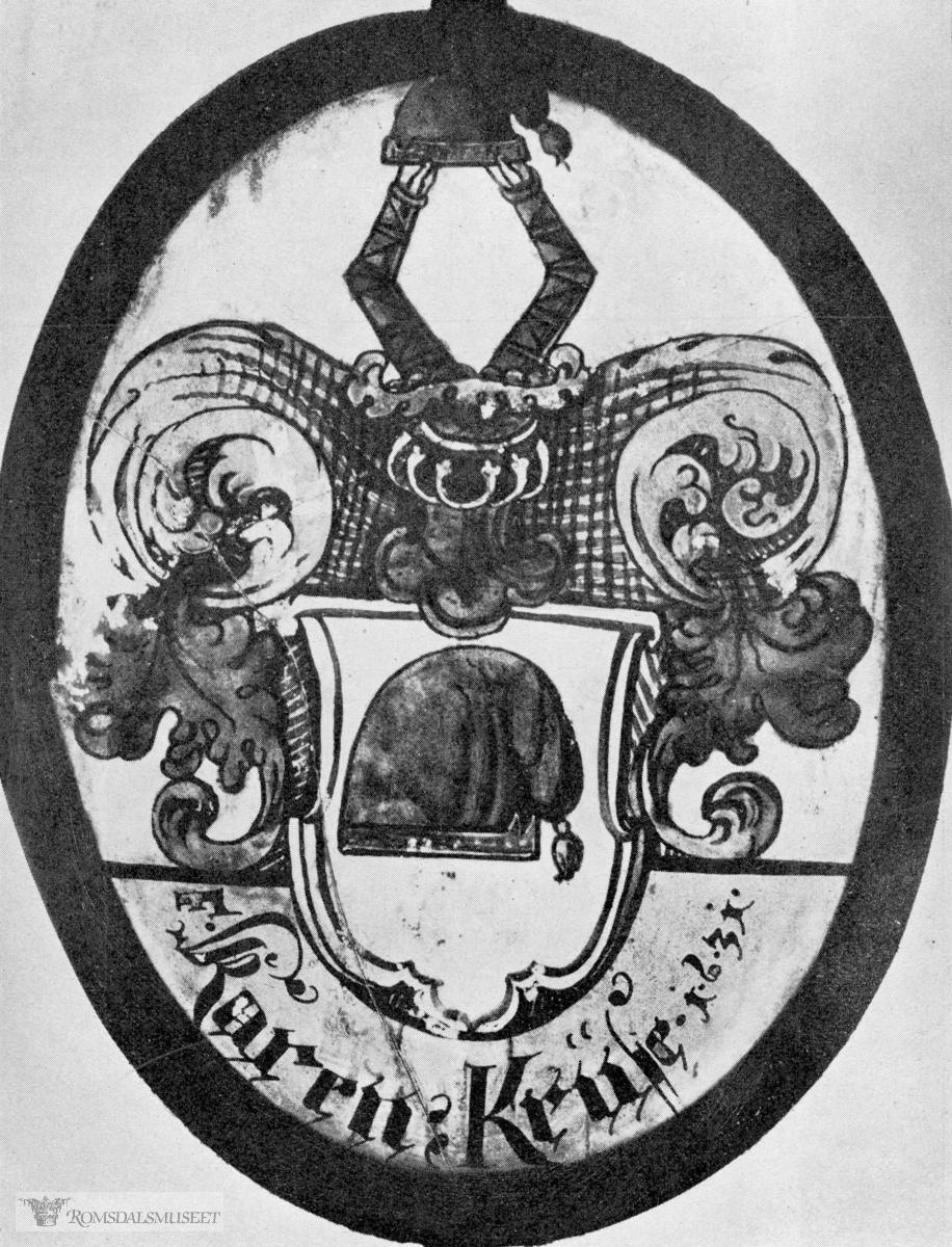 """""""Glassmalerier fra Veøy kirke, Romsdal, 1631. Bergen Museum"""" ....(Bildene er tatt fra boken """"Norske Glassmalerier fra Laugstiden"""" av Einar Lexow, se side 40 & 41)"""
