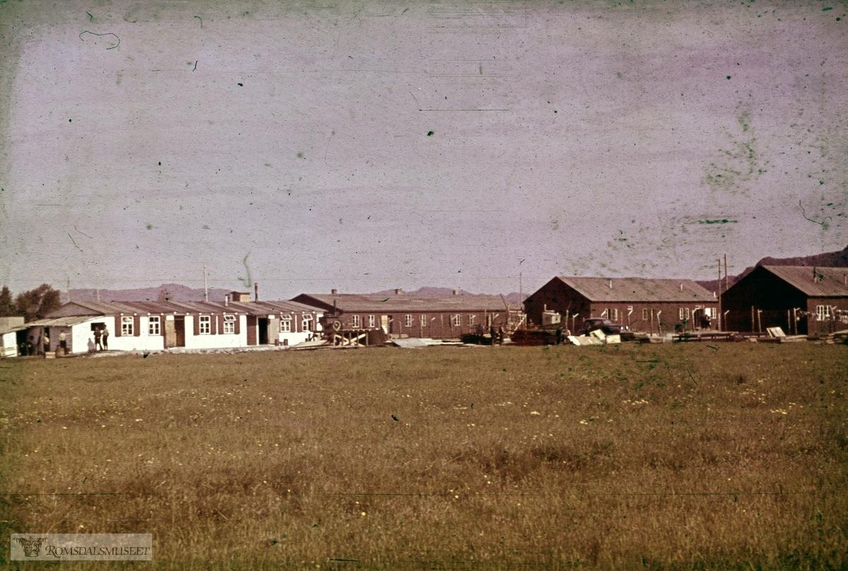 Austråt fort, Ørlandet.Bilder tatt av tyske soldater.