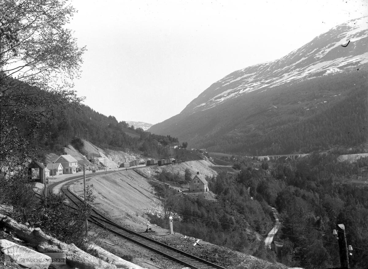 Verma stasjon .(Edvard var i Amerika fra april 1896 til desember 1910)