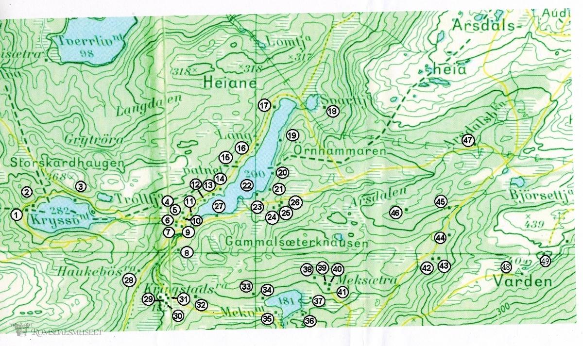 kart over moldemarka Kart over Moldemarka   Romsdalsmuseet / DigitaltMuseum kart over moldemarka