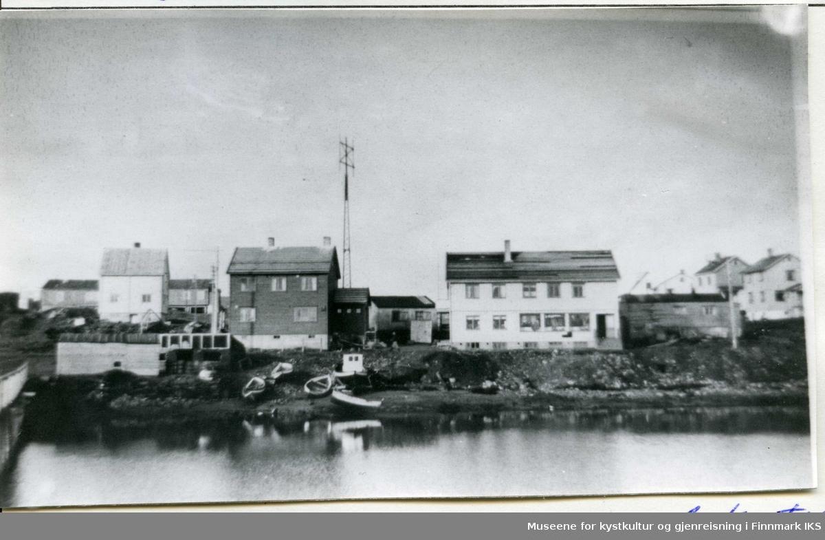 Bebyggelse i en del av Gamvik. 1948.