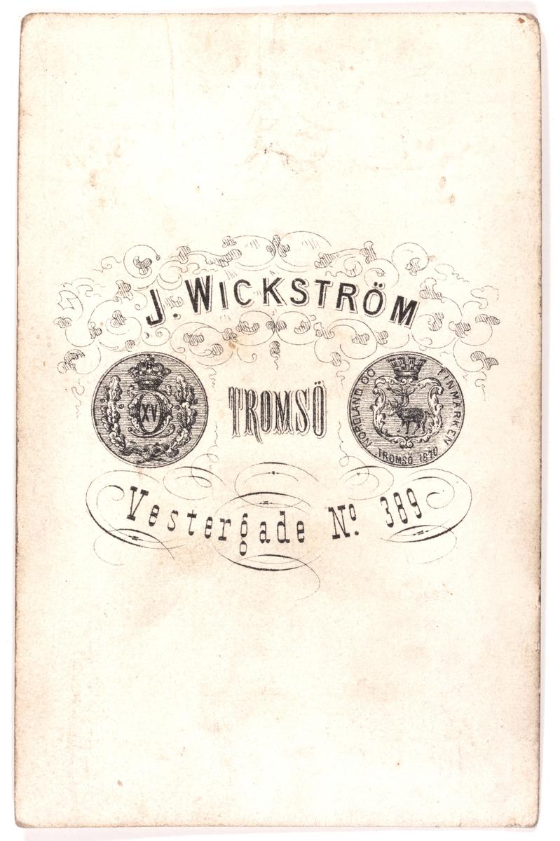 Visittkortfotografi. Fotografert 1855-1897.