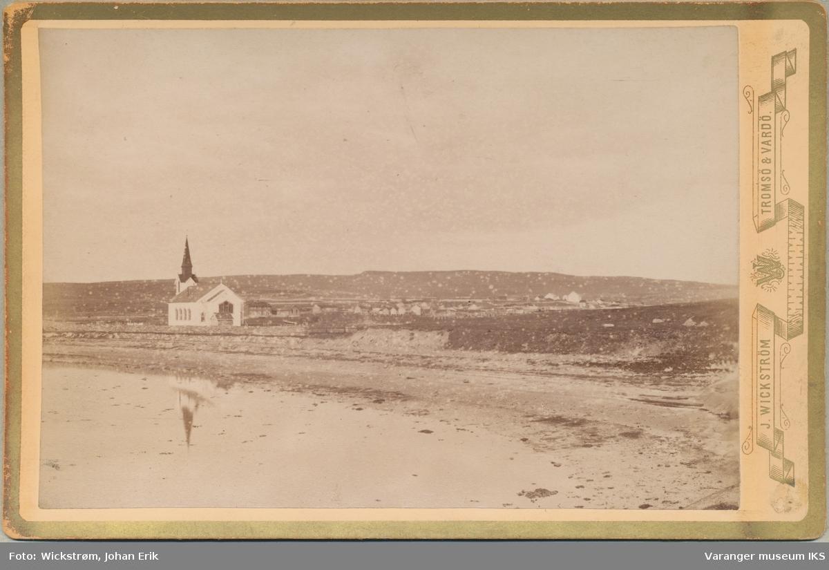 Nesseby kirke, antatt 1890-tallet