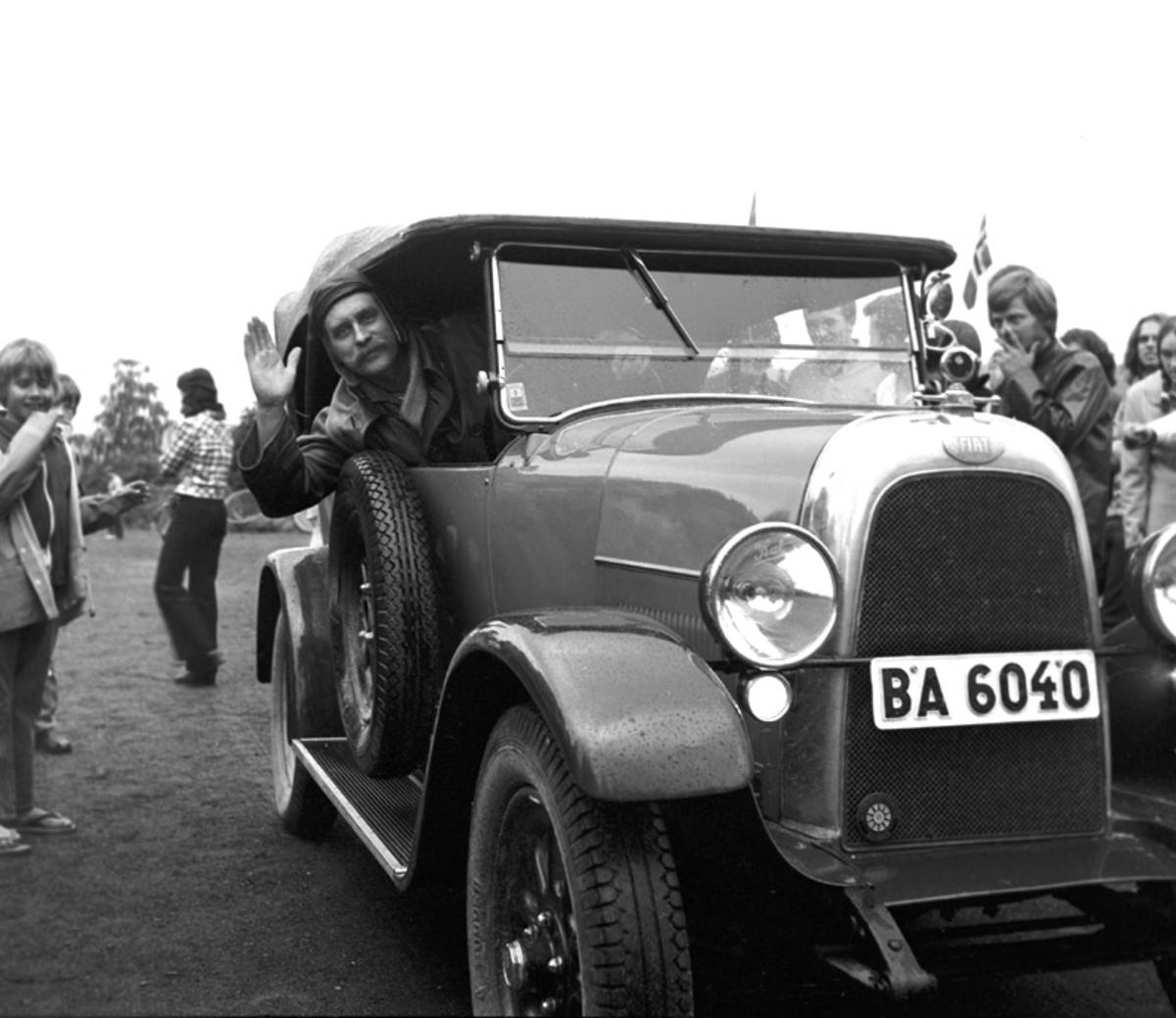 Fjellrally, 1972