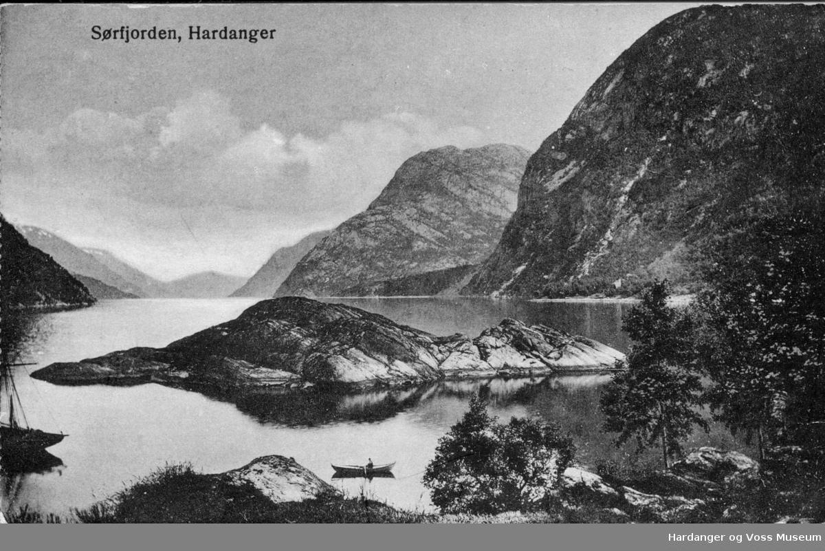 Sørfjorden med Geitholmen