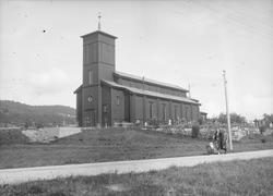 Eidsvågen Kirke (efter ombygn. av tårnet)