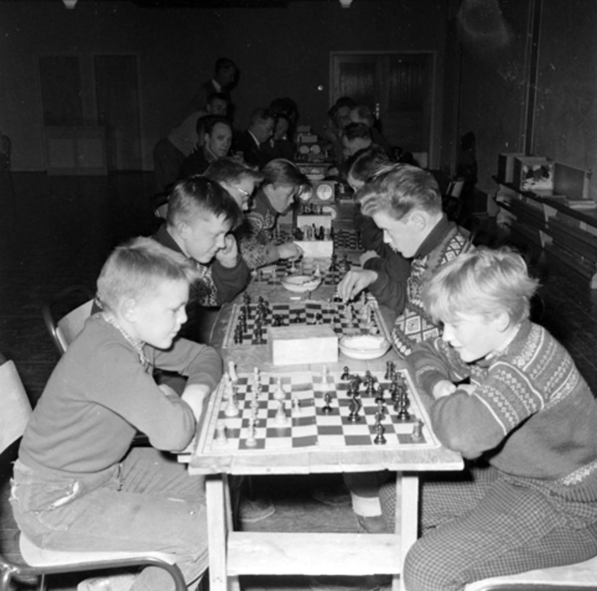 Sjakklubb, sjakkspillere, ungdommsklubb, Hamar?