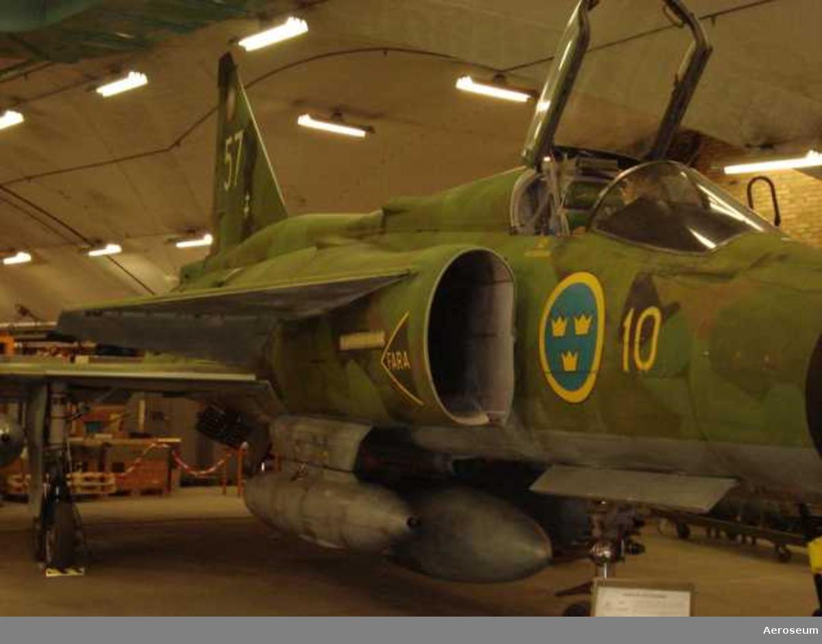 Flygplan AJ 37 VIGGEN