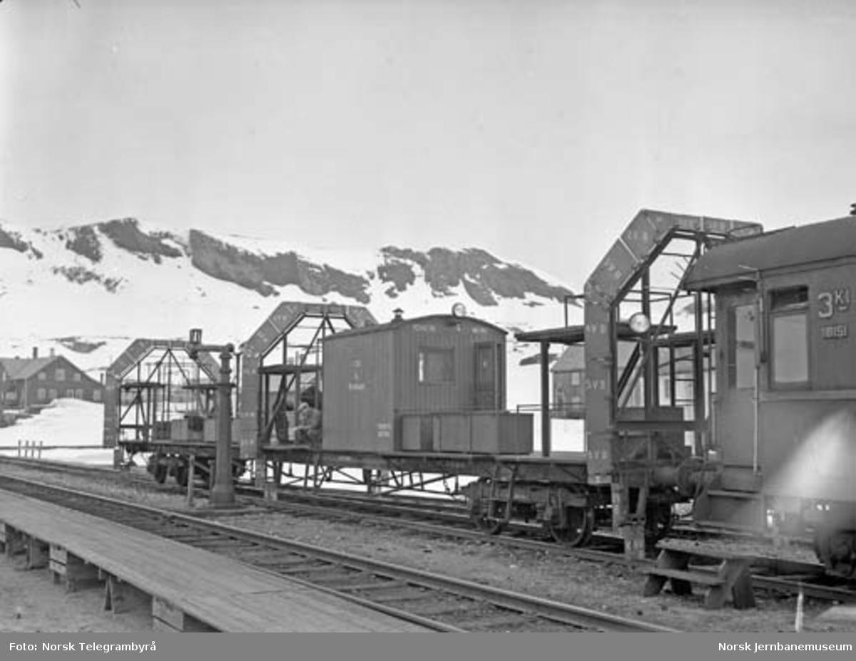 Profilvognkjøring på Bergensbanen : profilvognen