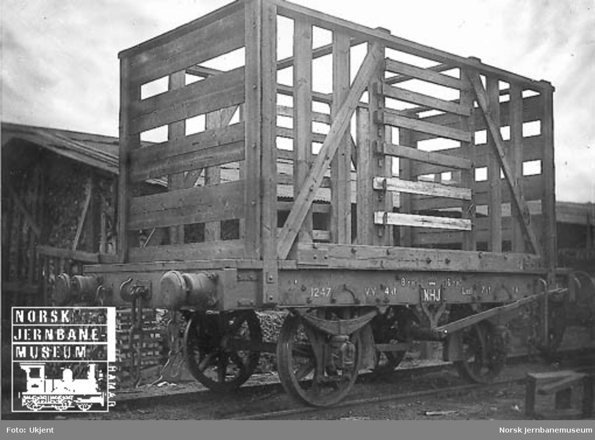 Hovedbanens vedvogn (midl. ombygget fra K) litra K nr. 1247