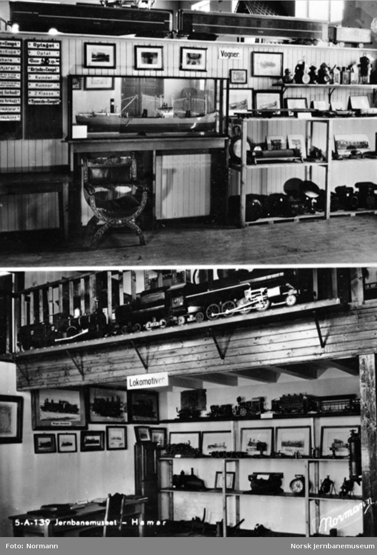 Jernbanemuseet på Disen : Postkort fra utstillingene