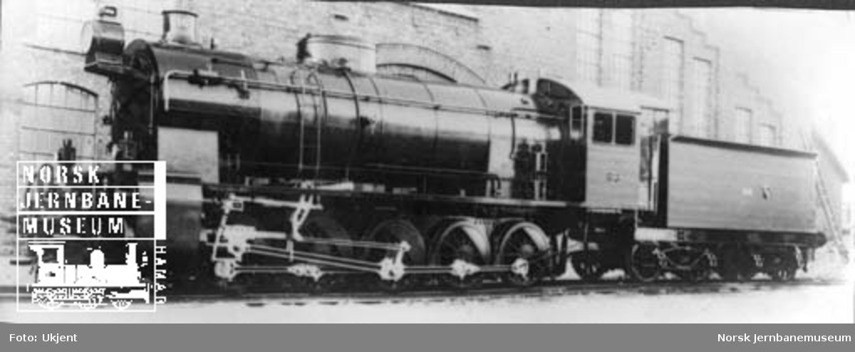 Damplokomotiv type 29a nr. 166