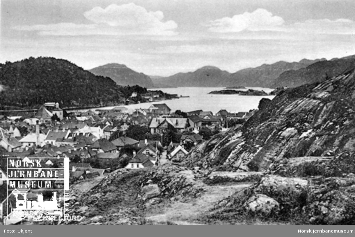 Parti fra Flekkefjord