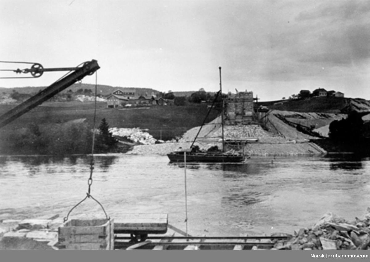 Bandak, sett mot nordre landkar - 1923.06.19