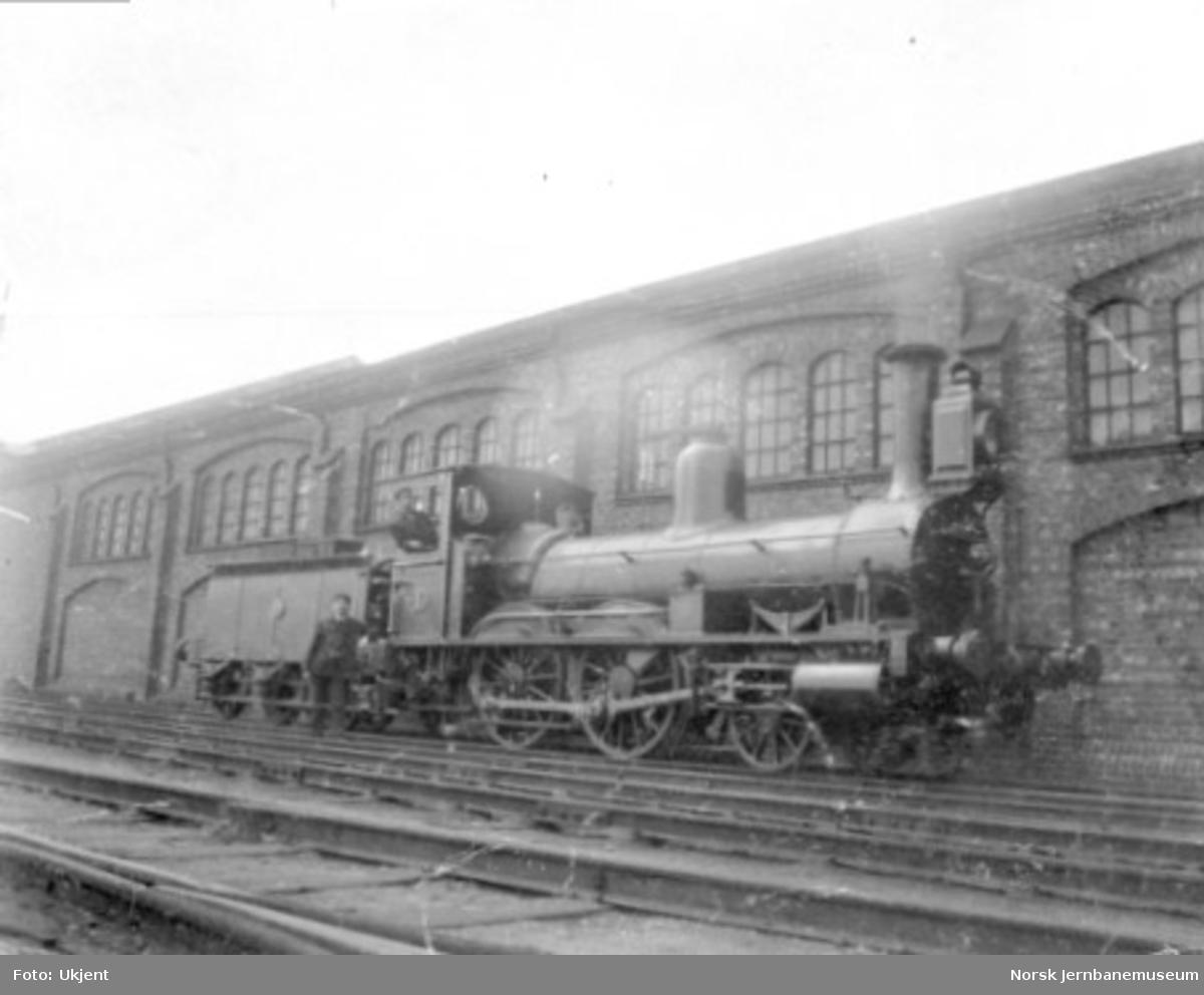 Hovedbanens damplokomotiv litra A nr. 1