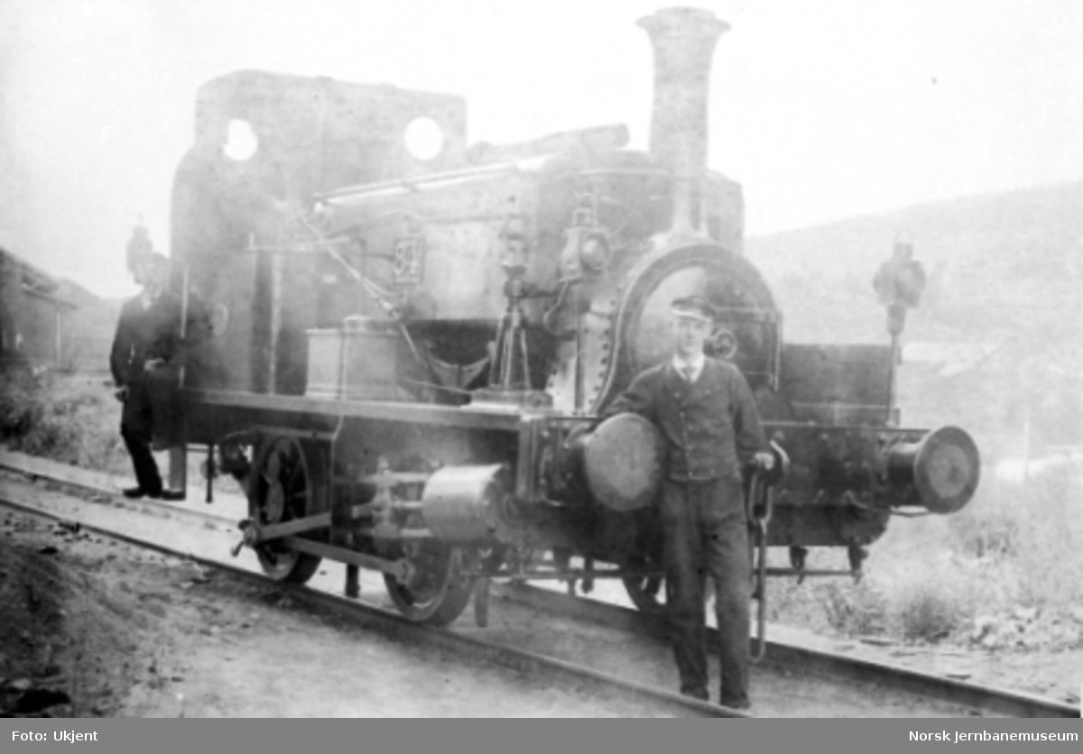 Hovedbanens damplokomotiv litra D nr. 84