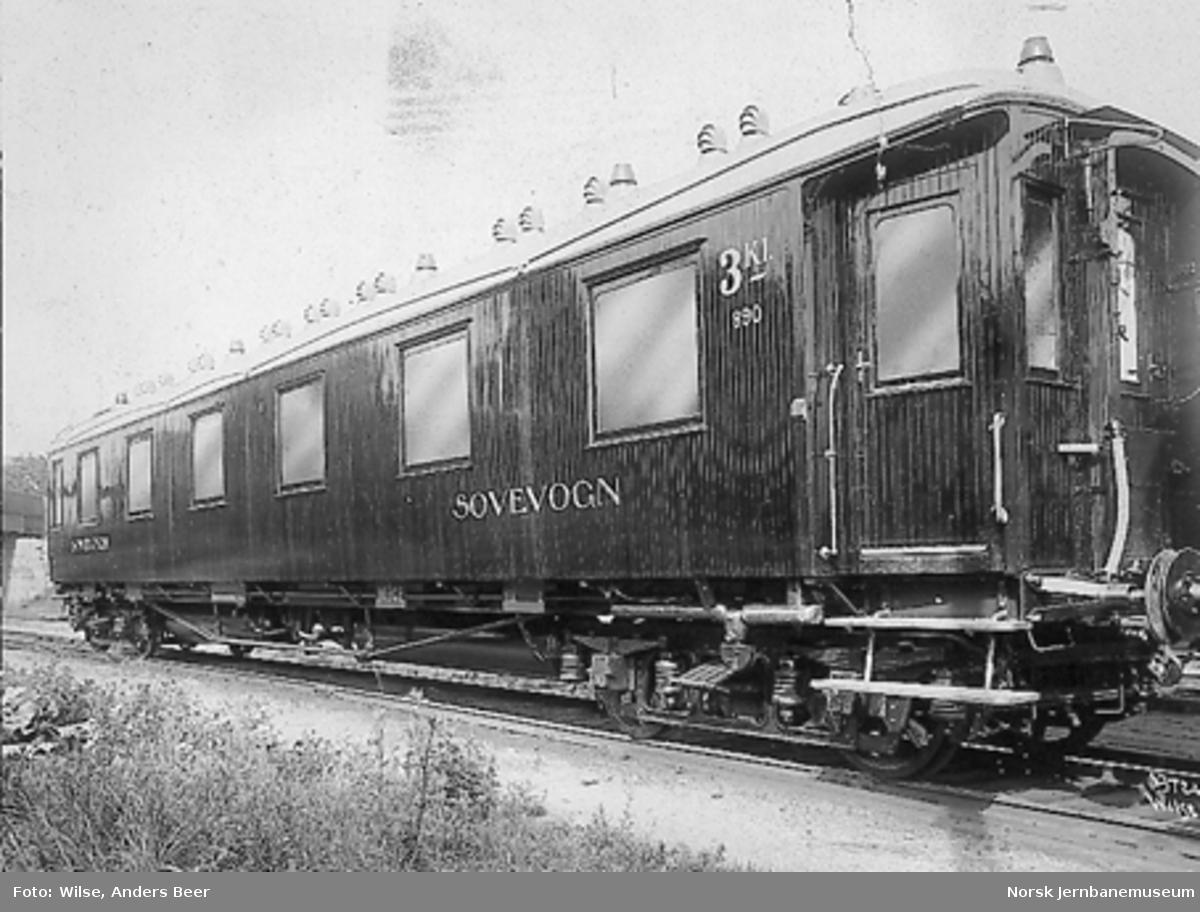 Sovevogn litra Co1a nr. 890