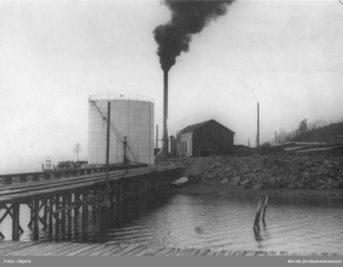 Jernbanens impregneringsverk på Hommelvik