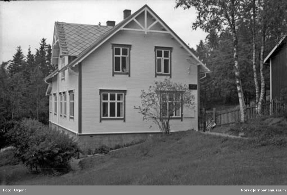 Nordlandsbaneanlegget : anleggets distriktskontor i Evjengården, Mo i Rana