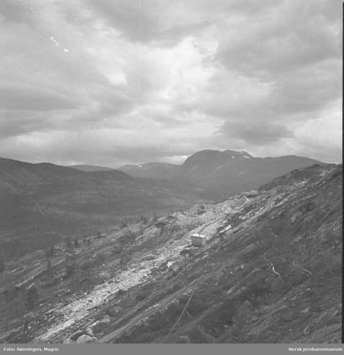 Nordlandsbaneanlegget nord for Lønsdal