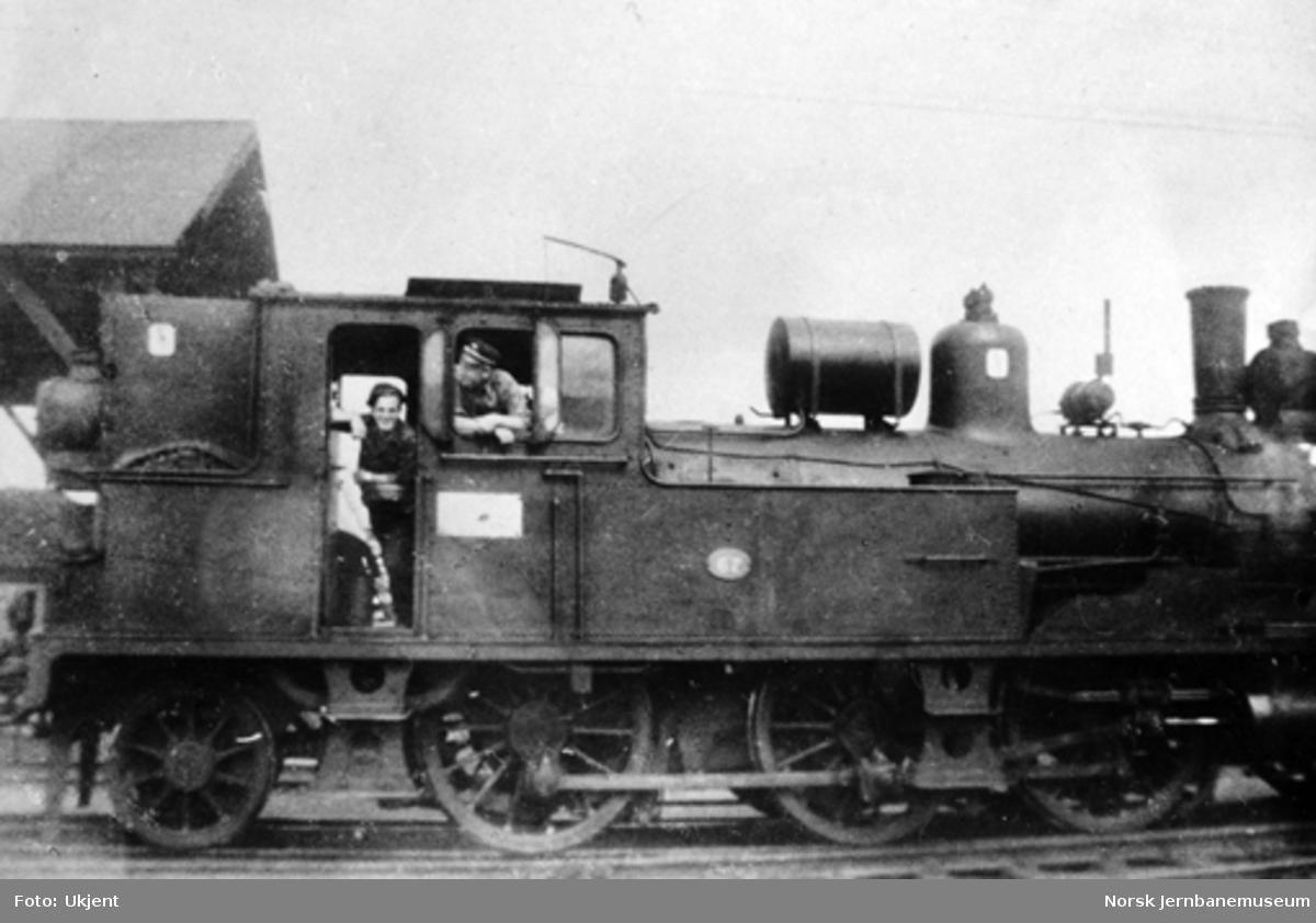 NSB damplokomotiv type 12a nr. 67